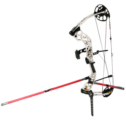 Archery Single Side V-Bar Quick Disconnect Mount Recurve Bow Rod Stabilizer US