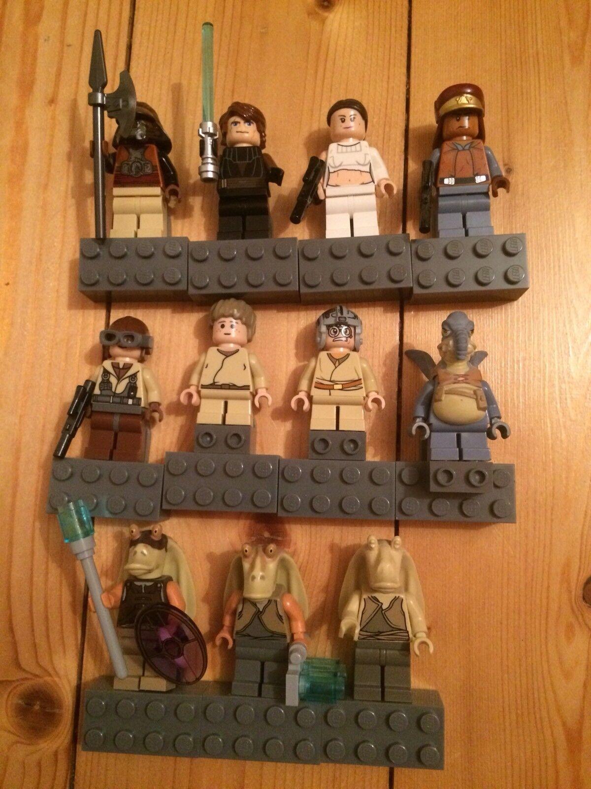 LEGO® Star Wars™ Minifigur Figur 11 Stück Nicht Verklebt