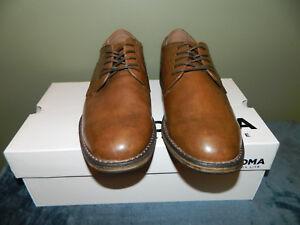423T Garfield Brown Cap-Toe Oxford Dress shoes 200153 Mens Sonoma