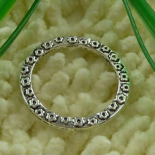 Free Ship 25 pieces tibetan silver cute jump ring 32mm #2453