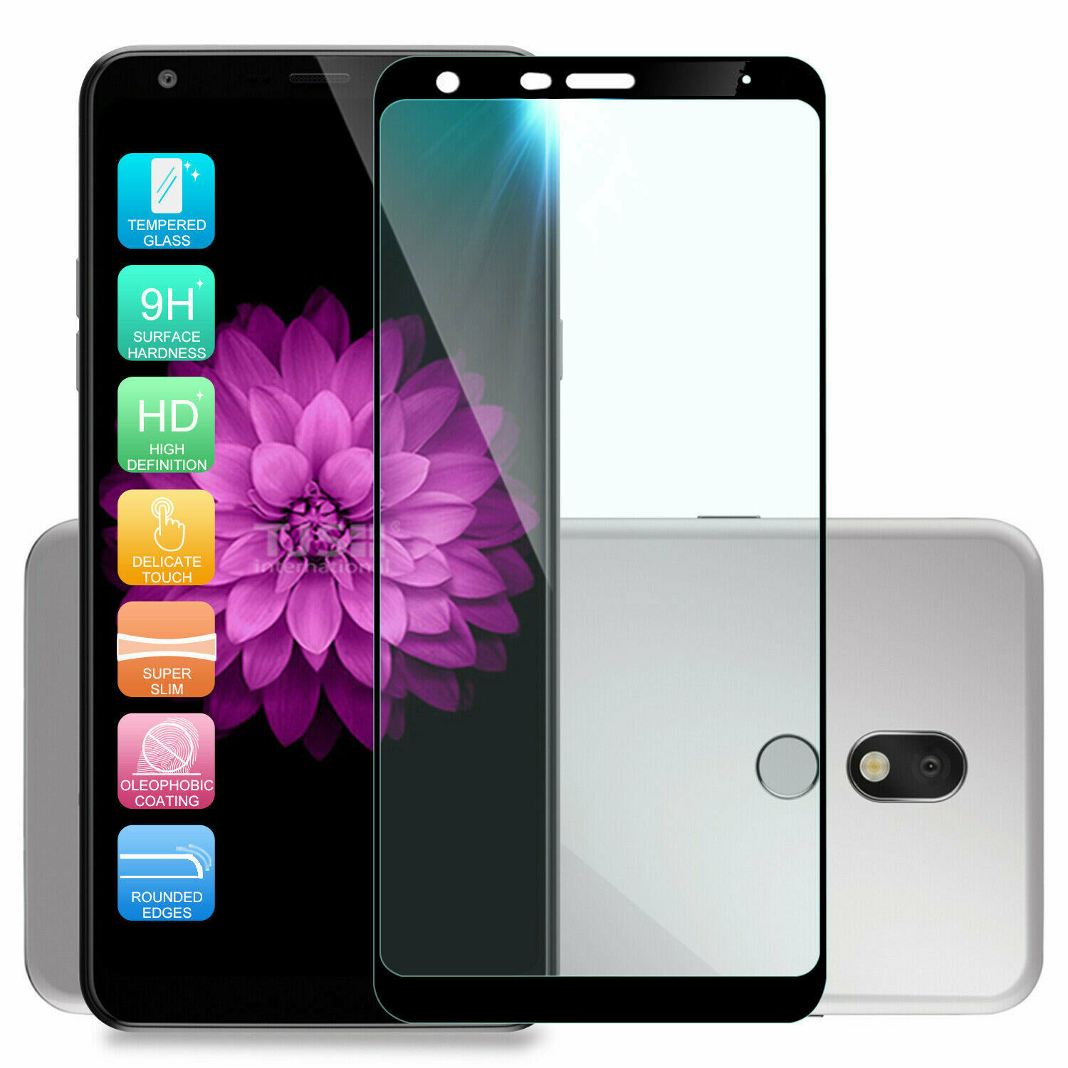 【3 Pack】 Synvy Screen Protector for NUU Mobile A6L TPU Flexible HD Clear Case-Friendly Film Protective Protectors Not Tempered Glass