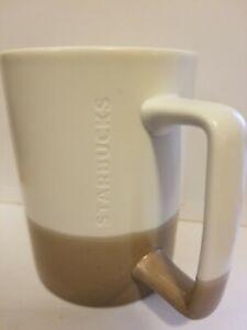 NEW Starbucks Coffee Mug Milk Cups 16oz Ceramic White/&Brown Gift Limited Edition