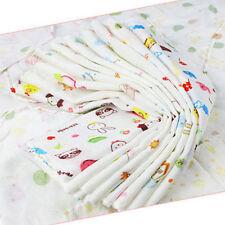 8Pcs Baby Infant Newborn Soft Washcloth Bath Towel Feeding Wipe Cloth