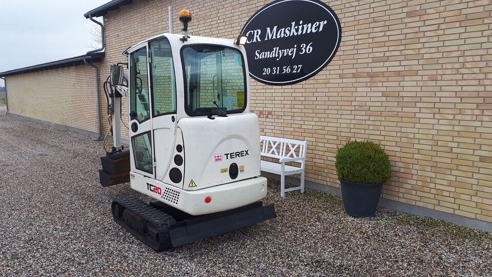 Minigraver, terex tc20