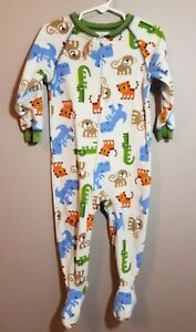 1aaed3a33 Child Of Mine By Carter's. Fleece Footed Pajamas Size 24 Months ...