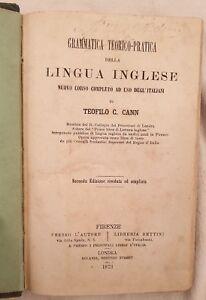 CANN-GRAMMATICA-TEORICO-PRATICA-LINGUA-INGLESE-ENGLISH-1873-ANGLAIS-GRAMMAR