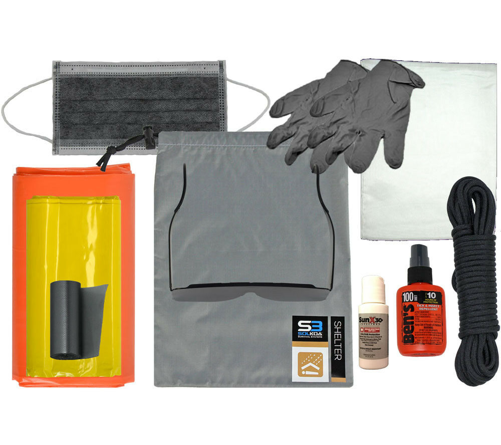 Shelter Survival Kit Professional Module Solkoa Systems