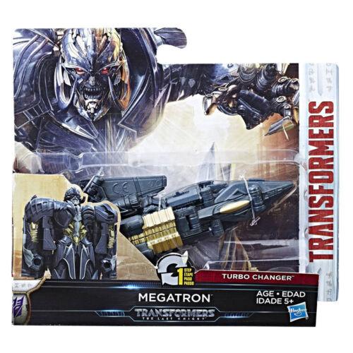 Película Transformers 5 el último caballero Cambiador de 1 pasos Turbo Megatron Figura Nueva