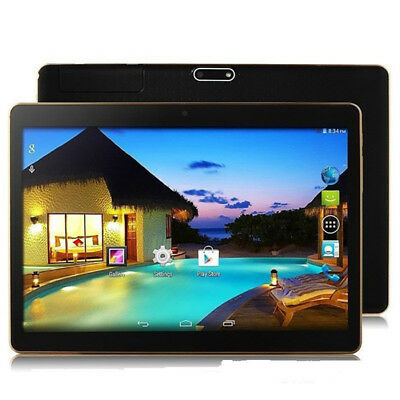 "10"" Tableta PC Android 5.1 4GB +64GB Quad Core Bluetooth 4.0 con Mic Negro"