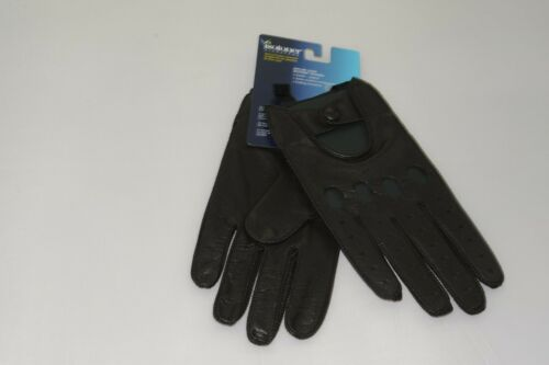 $55 NWT Isotoner Signature Men/'s Genuine Leather Driver Glove Size XL
