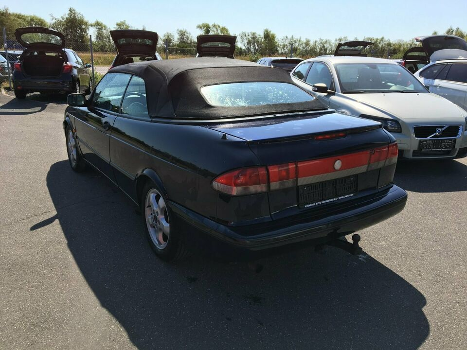 Saab 900 2,3 S Cabriolet Benzin modelår 1998 km 319000 træk 1