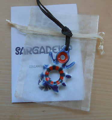 Sargadelos Porcelain Charm Necklace for Immortality NEW