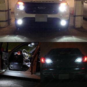 17x White Interior Exterior Led Lights Package Kit For 2011 2015 Ford Explorer Ebay