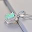 Damen-Halskette-echt-Silber-925-Opal-Stein-Kette-Silber-mt-Anhaenger-Geschenk-Neu Indexbild 14