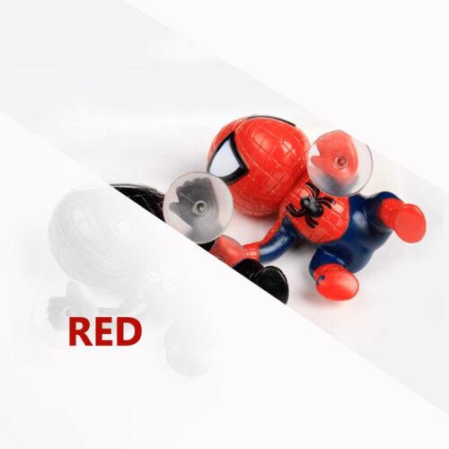 Car Cute Spider Man Toy Climbing Spiderman Window Sucker Doll Decoration