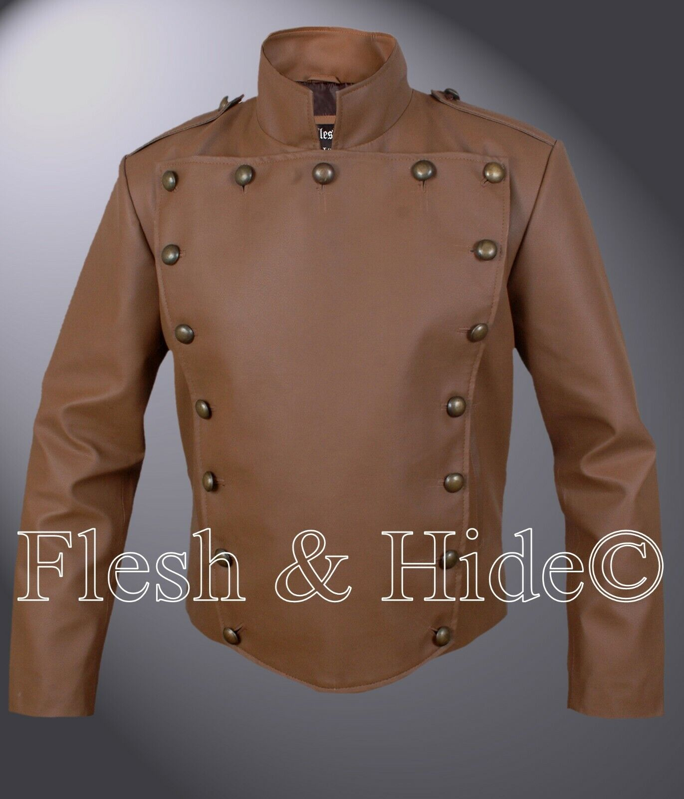 Billy Campbell Cliff Secord The Rocketeer Jacket in Tan braun