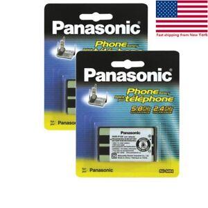 foto de 2 Panasonic HHR P104 3 6V NI MH Cordless Phone