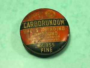 Car-collectors-carborundum-valve-grinding-compound-No355-fine-Austin-triumph-mgb