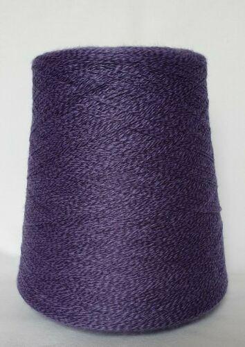 Wolle Polyacryl • LILA moul • NM28//2 • Strickmaschine häkeln Kone Twist WKF