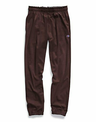 Champion Big and Tall Jersey Knit Pant with Elastic Bottom CH306-MAROON-2XT