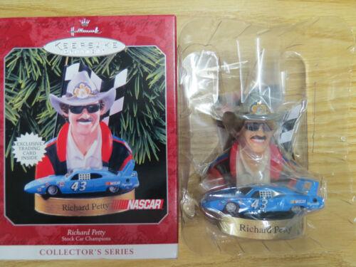 Hallmark Keepsake Ornament NASCAR Richard Petty Stock Car Champions New