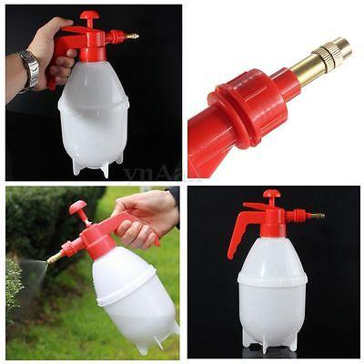 1.5L Litre Pressure Spray Bottle Watering Pump Garden Sprayer Weed Plant Home