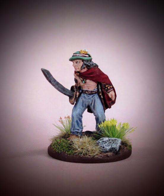 Malete Rüde   THIEF Miniatur von Ral Partha Dungeons & Drachen AD &D