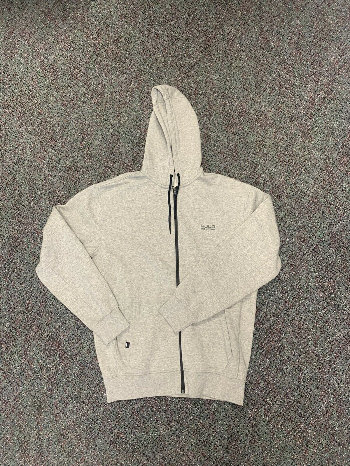 Ralph Lauren Polo Sport Zip Up Hooide LT Grey Vin… - image 1