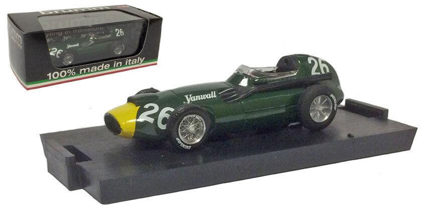 Brumm Vanwall F1 Italian GP 1958 - S Moss F1 Constructors Champions 1 43