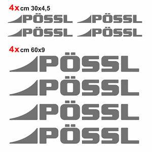 Kit-completo-8-adesivi-camper-Possl-GRIGIO-SCURO-loghi-possl-caravan-roulotte
