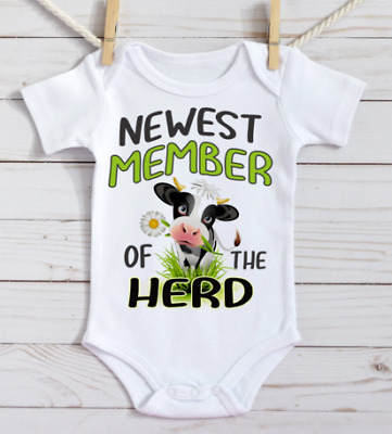 New to the Herd Onesie