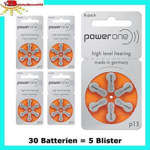 30 batterien powerone typ 13 batterien pr48 p13 h rger te batterie orange ebay. Black Bedroom Furniture Sets. Home Design Ideas
