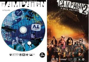 CAMPAIGN-1-and-2-Special-Two-DVD-4-disc-Pack-Taylor-Steele-Film-SURF-DVD