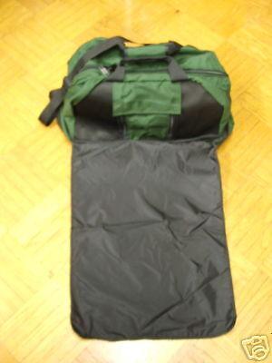 Deluxe Wader Bag w  Roll Out Matt - Green - New