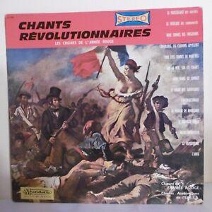 33T-CHOIRS-ARMY-RED-Vinyl-LP-12-034-CHANTS-REVOLUTIONARIES-30-CV-949