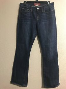 LUCKY-BRAND-Sofia-Boot-Cut-Womens-Dark-Wash-Jeans-Size-8-29-EUC