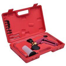 Auto Hand Held Brake Fluid Bleeder Vacuum Pump Tester Tool Kit with Adapters