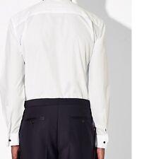 John Lewis Marcello Wing Collar Double Cuff Dress Shirt, White 16.5