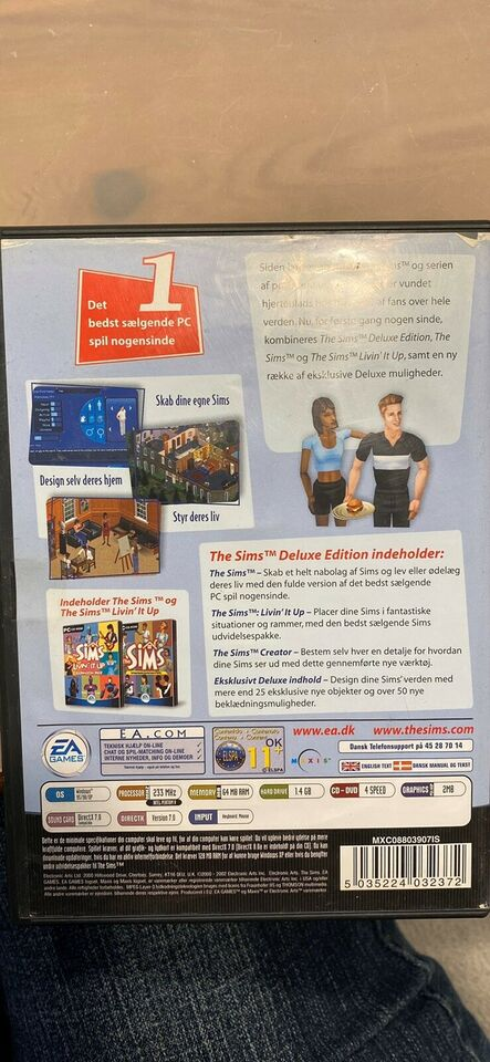 The Sims, Deluxe Edition, til pc