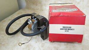 Nos 395326 Stratton OEM Briggs Armature Magneto TwO6TqP