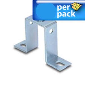 1 inch New 20 Set DIN Rail Mounting Standoff Brackets Set High Angled