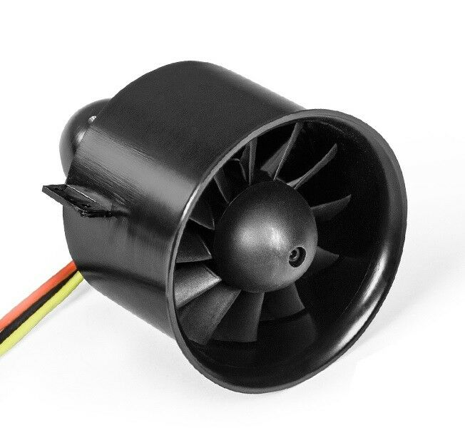 Freewing 80mm 12 Blade SMF 1850Kv For 6S High Speed - Free Shipping