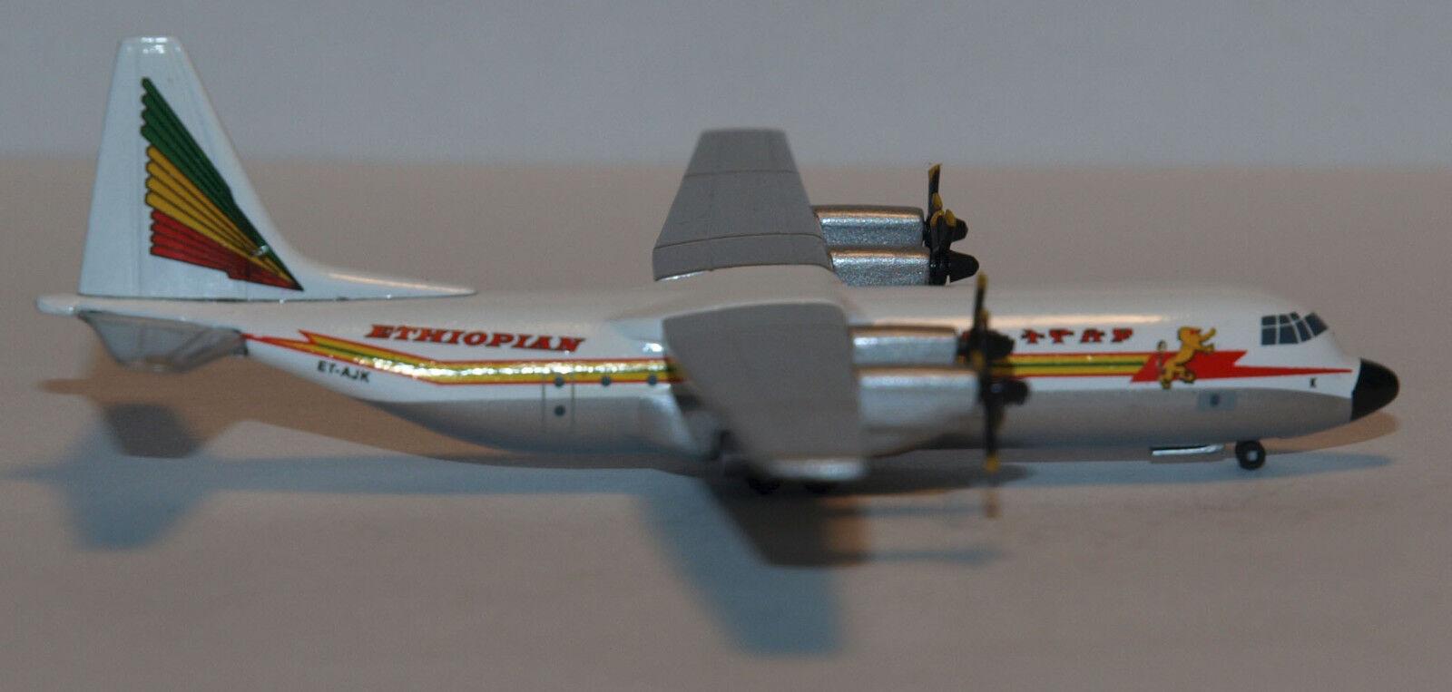 Herpa Wings 1 500 Ethiopian L-100-30 prod id 514392 released 2005