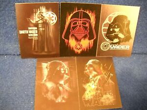 Star Wars Rogue One Vader Complete Continuity Chase Card Set #6-10
