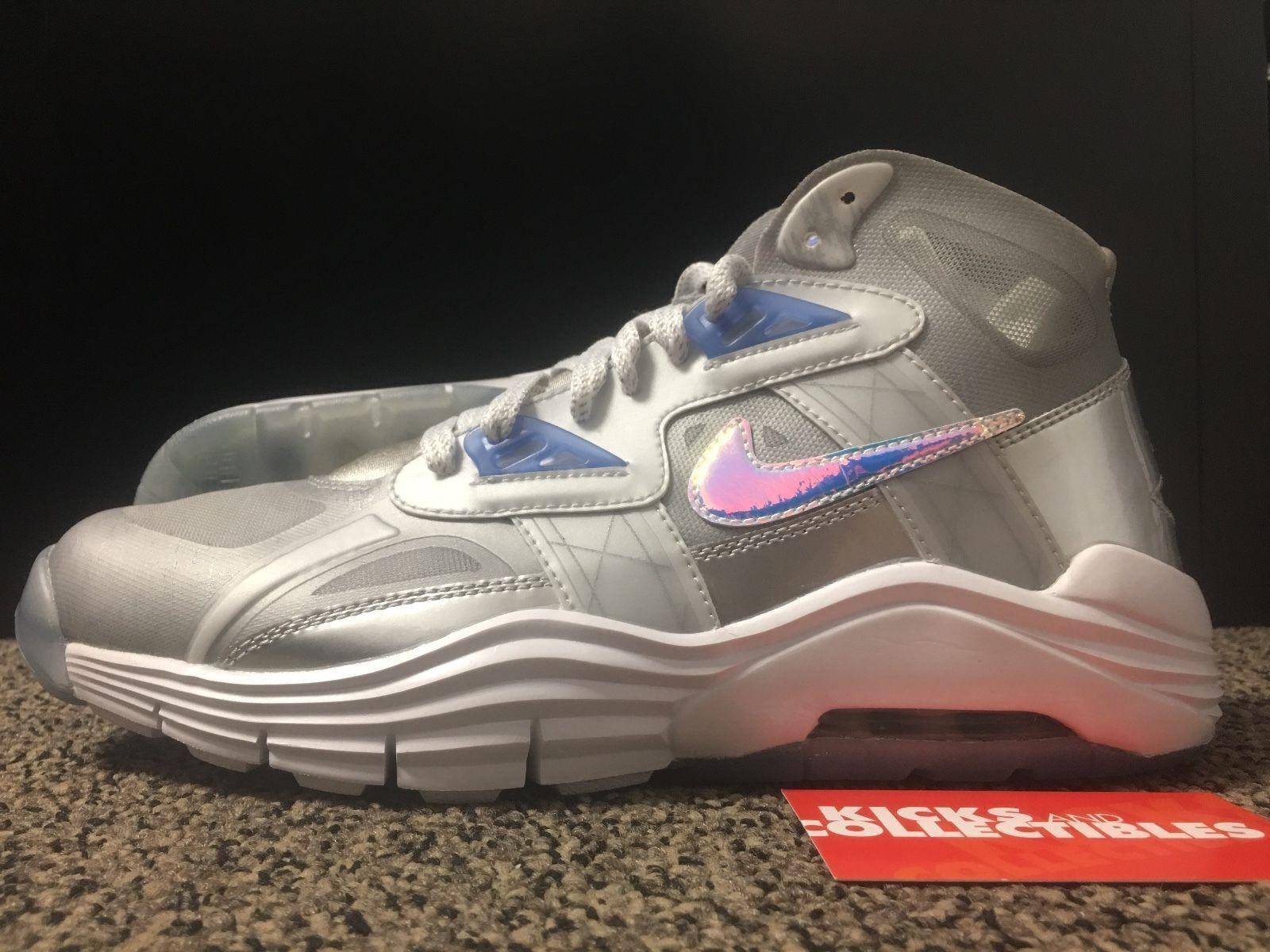 Nike 646797 001 lunar 180 trainer sc qs 11, 12 superbowl 13 argento blu ghiaccio superbowl 12 0b70b8