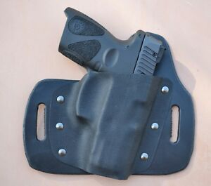 Details about Taurus PT111-G2/G2c and PT-140 G2/G2c Leather Kydex Hybrid  OWB holster
