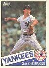 1985 Topps Clay Christiansen #211 Baseball Card