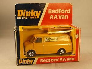 Dinky Toys GB 412 Bedford AA van neuf en boite