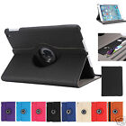 Wallet Smart Cover Case 360 Rotating for Apple iPad mini 3 2 1