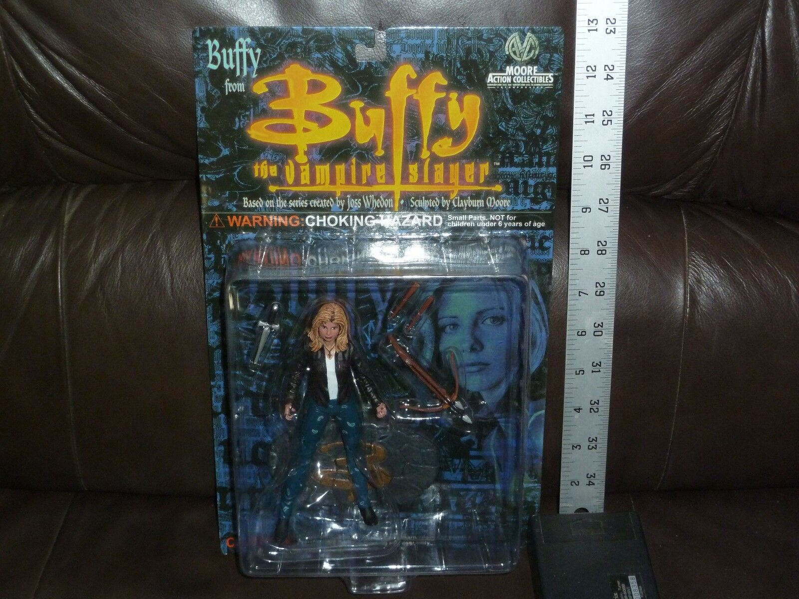 BUFFY THE VAMPIRE SLAYER MAC MOORE ACTION COLLECTIBLES